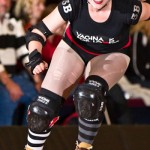 roller derby girl: ain't nobody getting in her way!