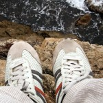 overcoming fear: standing on the edge of a cliff