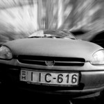 A car speeding toward you--the first step to overcoming fear?